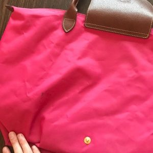 Longchamp Bags - FLASH SALE Pink Longchamp Tote
